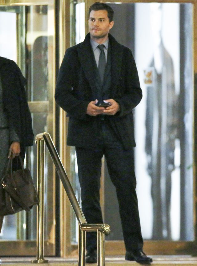 Gdy jego �ona rodzi�a, Jamie Dornan... (FOTO)