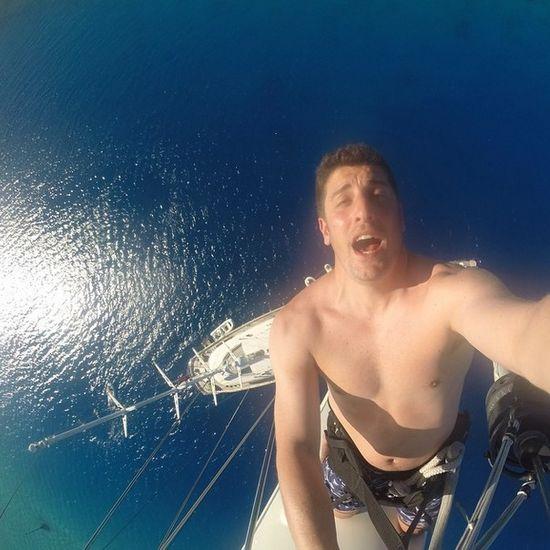 Jason Biggs zrobił najbardziej szalone selfie!