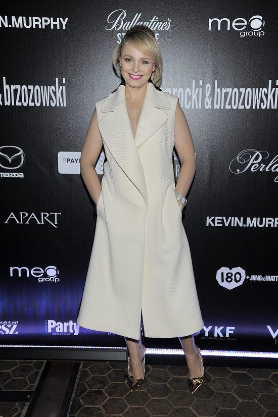 Agnieszka Jastrzębska pogrubiła się tą sukienką (FOTO)