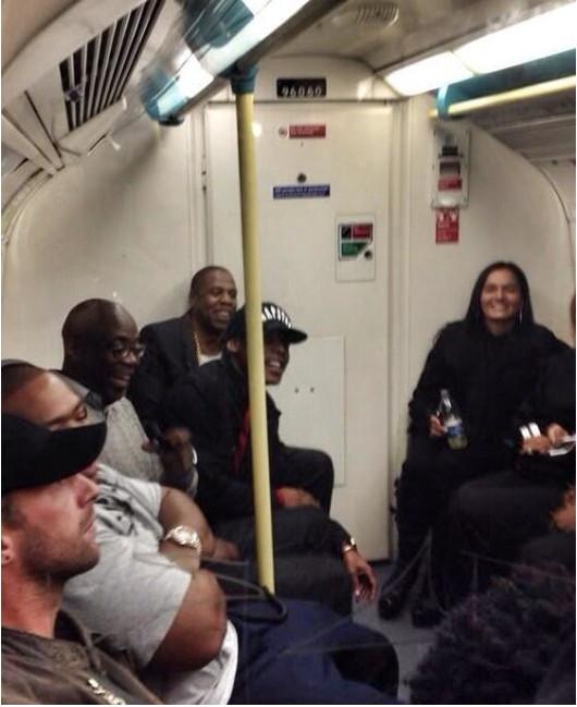 Jay Z pojechał na koncert metrem