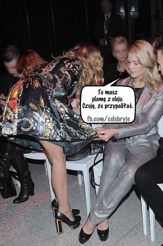 Jessica Mercedes gotuje w sukience za 1700 zł (FOTO)