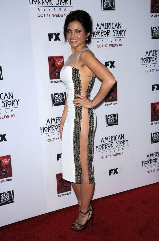 Jenna Dewan w prze�wituj�cej sukience (FOTO)