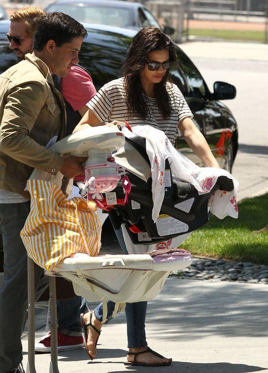 Jenna Dewan - do pracy z dzieckiem (FOTO)