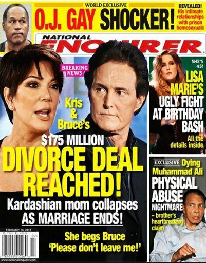 Wyciekły dokumenty rozwodowe Kris Jenner!