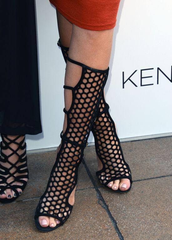 Jennerki o w�os od wpadki na �ciance (FOTO)