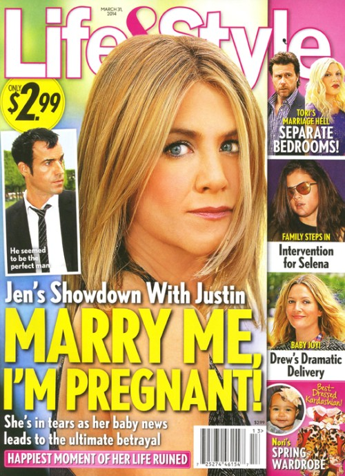 Aniston BŁAGA narzeczonego: Wyjdź za mnie, jestem w CIĄŻY!
