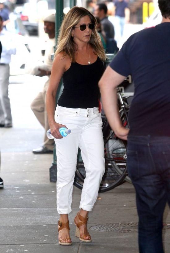 Mamy nowe zdjęcia Jennifer Aniston. Narobiły w sieci sporo zamieszania