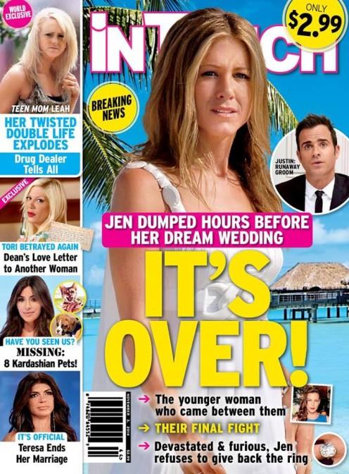 Dziwne doniesienia z życia Jennifer Aniston