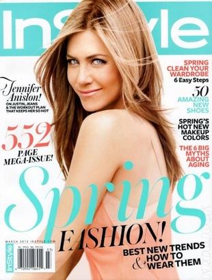 Jennifer Aniston nie przejmuje się wiekiem
