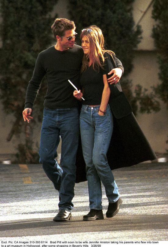 Brangelina i Aniston o włos od niezręcznej sceny!