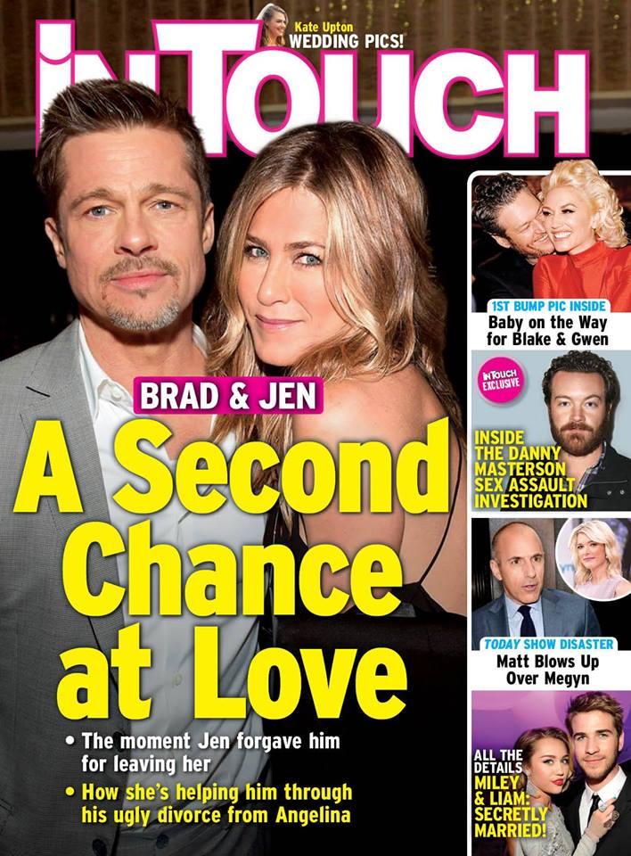 InTouch: Ulubiona para Hollywood dała sobie jeszcze jedną szansę!