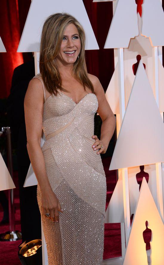 Jennifer Aniston kusiła na Oscarach (FOTO)
