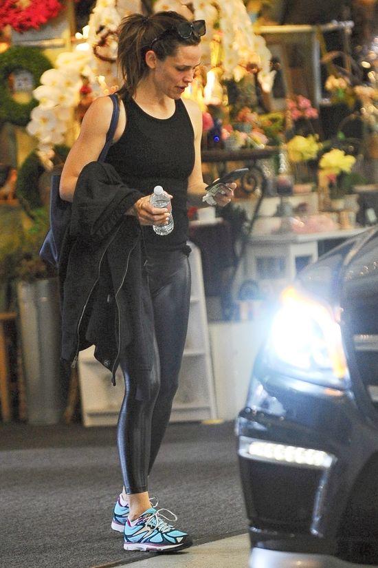 Jennifer Garner bez makijażu po treningu (FOTO)