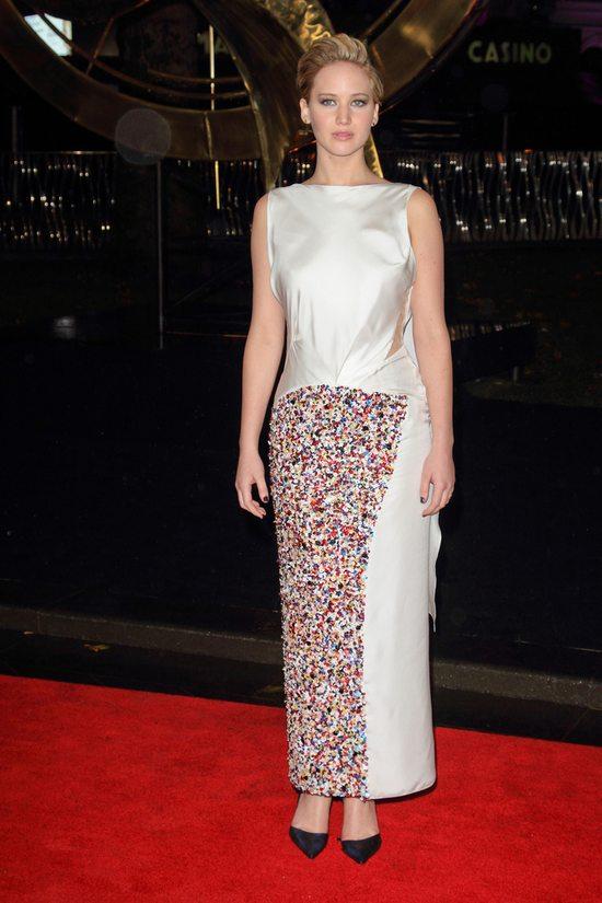 Jennifer Lawrence powróciła na czerwone dywany (FOTO)
