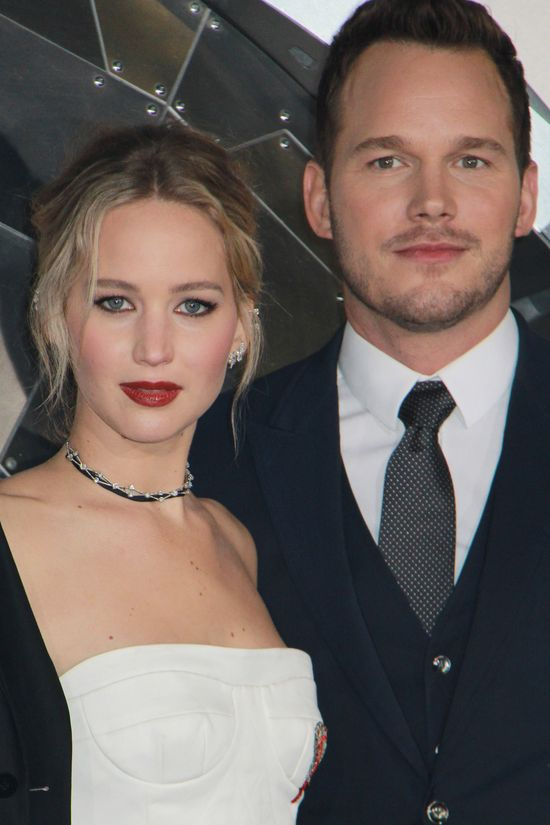 Chris Pratt o Jennifer Lawrence: Szczerze?