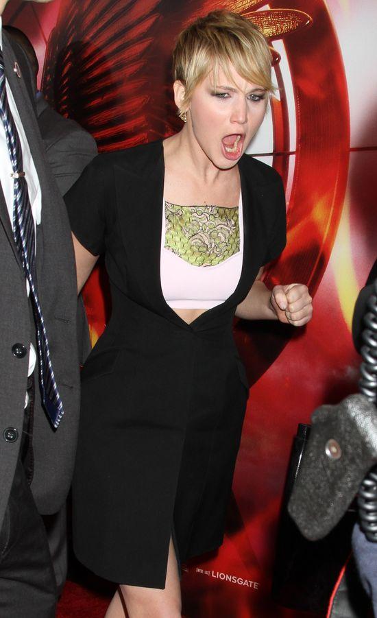Jennifer Lawrence najbardziej przereklamowaną gwiazdą 2013