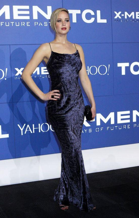 Modelka plus size broni kształtów Jennifer Lawrence