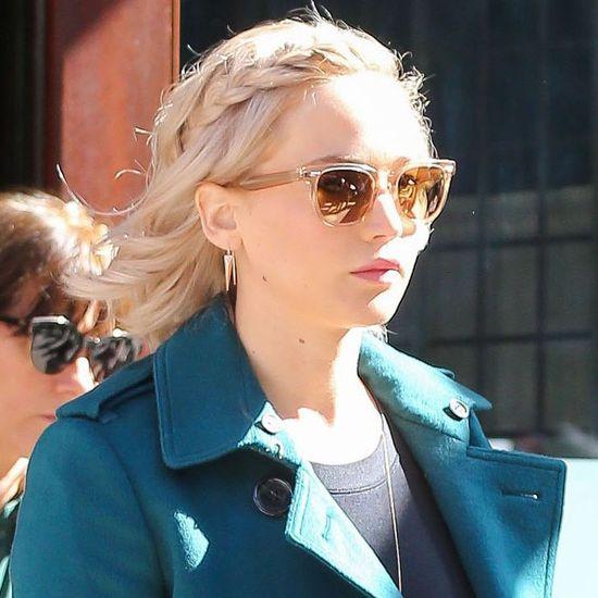 Jennifer Lawrence jest teraz platynową blondynką (FOTO)