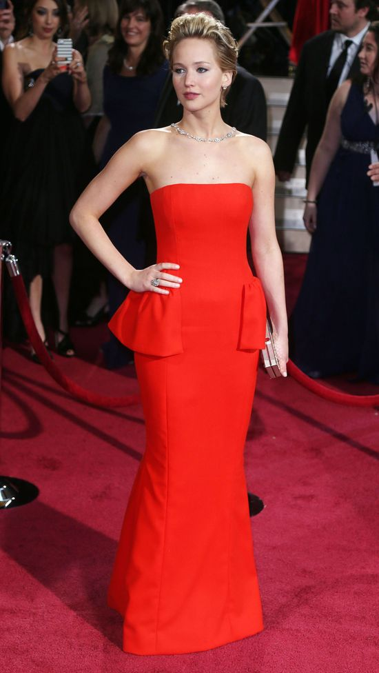 Jak zaprezentowały się gwiazdy na rozdaniu Oscarów w 2014?