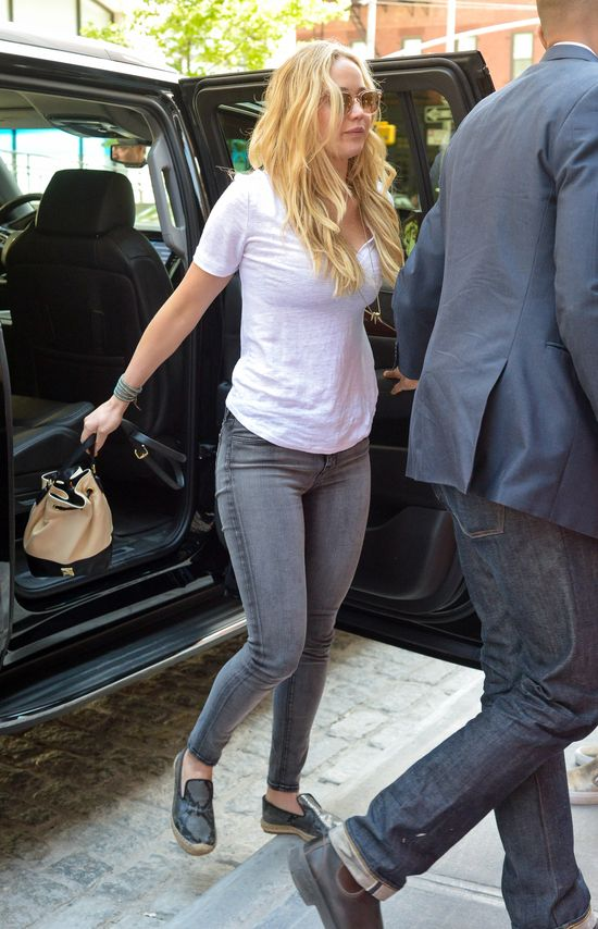 Jennifer Lawrence nie wyróżnia się z tłumu (FOTO)