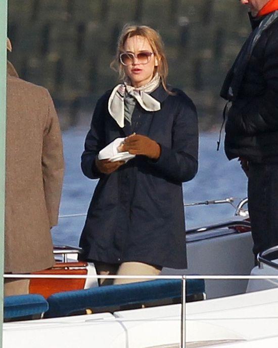 Jennifer Lawrence nie miała urlopu (FOTO)