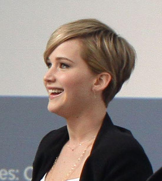 Jennifre Lawrence ścięła włosy (FOTO)