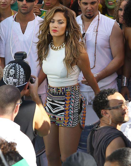 Bardzo seksowna Jennifer Lopez pracuje nad nowym klipem