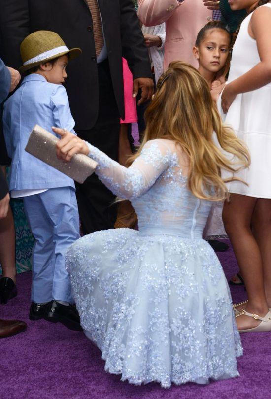 Jennifer Lopez i jej były spotkali się na ściance!