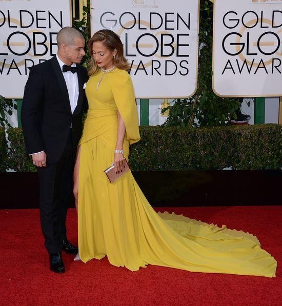 Jennifer Lopez - w końcu obeszło się bez wpadki! (FOTO)
