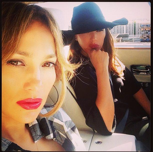Pijany kierowca wjechał w wóz Jennifer Lopez! (FOTO)