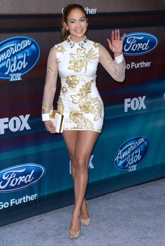 Jennifer Lopez nie widzia�a si� w lustrze? (FOTO)