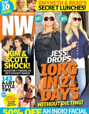 Jessica Simpson zrzuciła 10 kilo w 21 dni (FOTO)