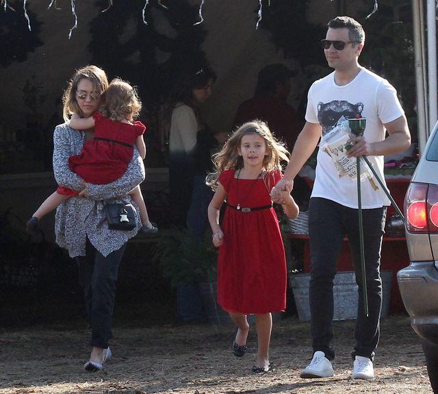 Rodzina Jessiki Alby odwiedzi�a �wi�tego Miko�aja (FOTO)