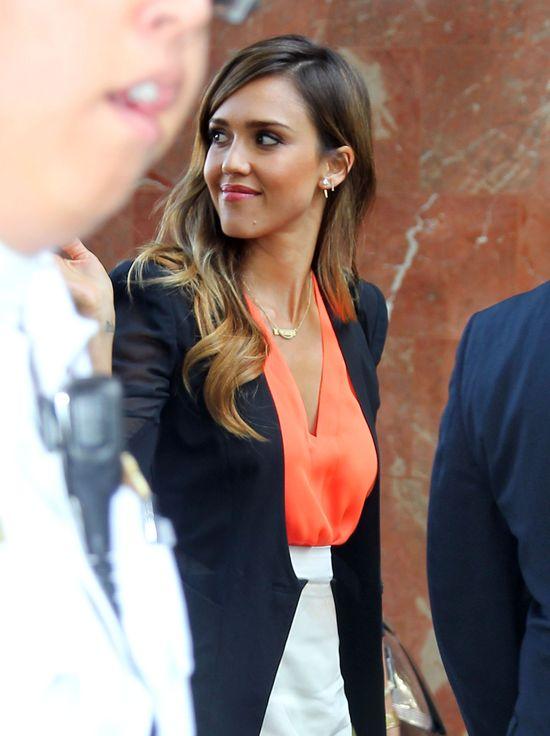 Jessica Alba: Mój wygląd to moja droga do Hollywood
