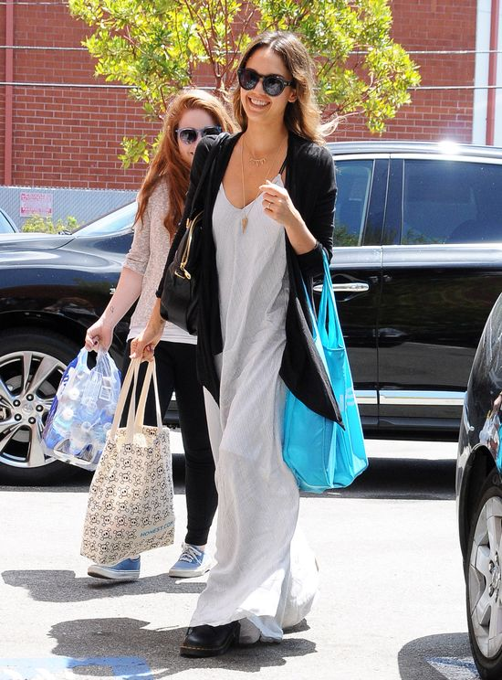 Nicole Scherzinger i Jessica Alba postawiły na luz (FOTO)