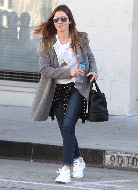 Jessica Biel wróciła do świetnej formy (FOTO)