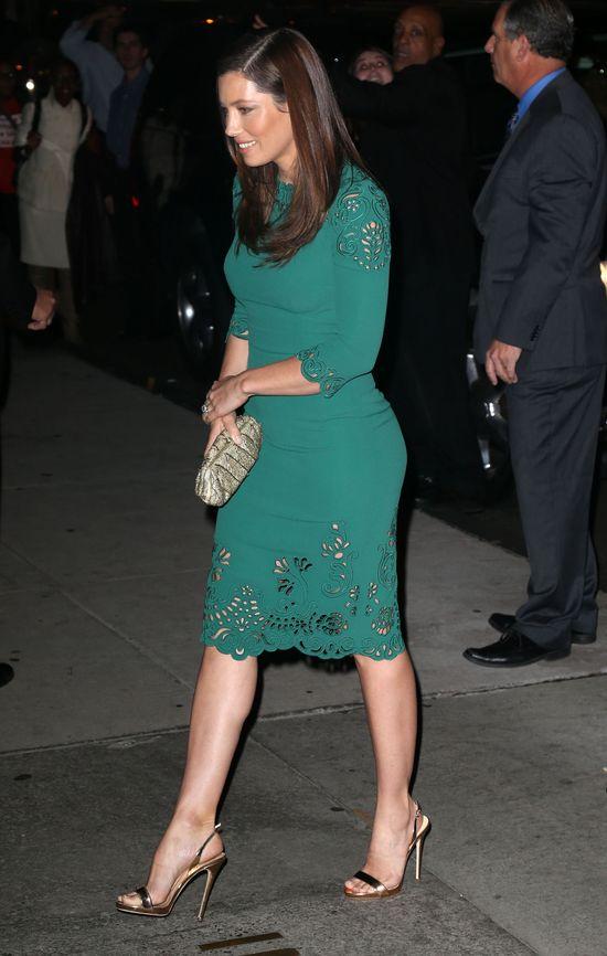 Jessica Biel bardziej seksowna po niż przed ciążą? (FOTO)