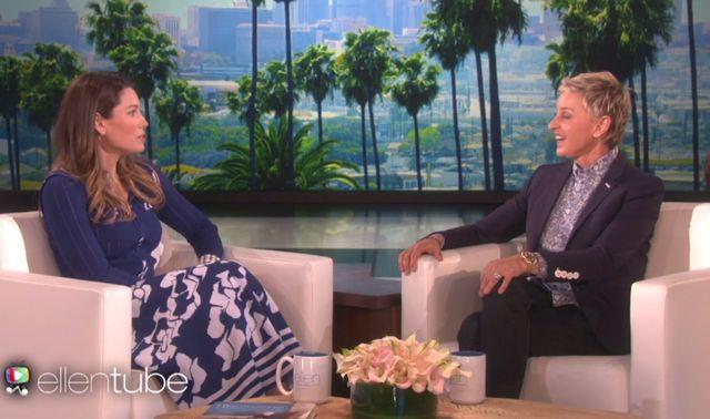 Ellen DeGeneres zapytała Jesskę Biel o ciążę