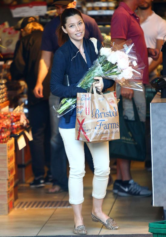 Jessica Biel nie potrzebuje makija�u? (FOTO)
