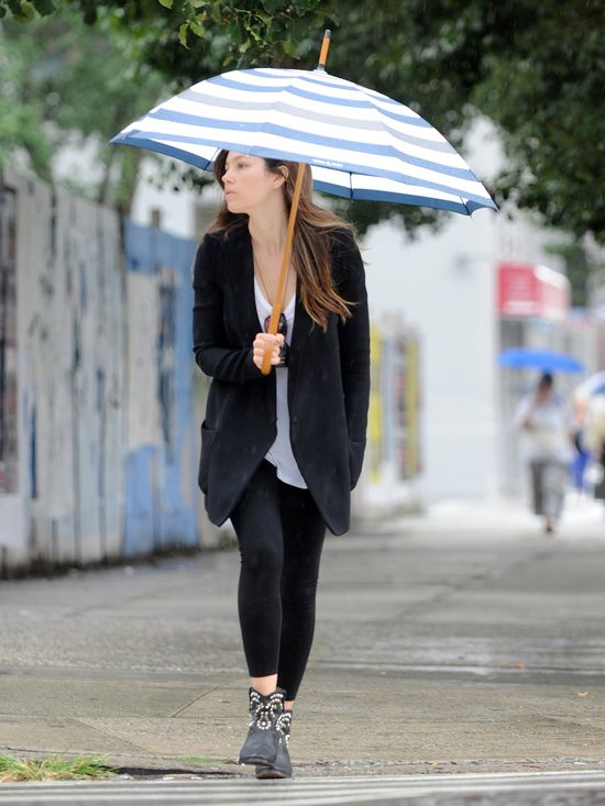Jessica Biel nawet bez makijażu wygląda dobrze (FOTO)