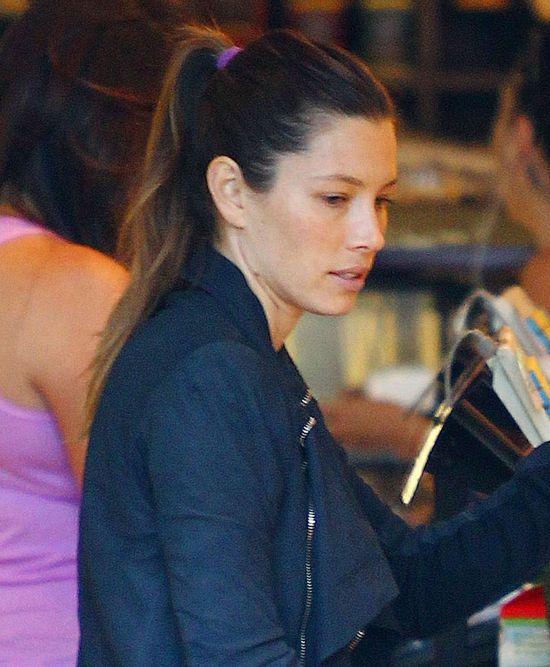 Jessica Biel nie potrzebuje makijażu? (FOTO)
