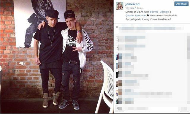 Jessica Mercedes zaczyna promowa� brata? (FOTO)