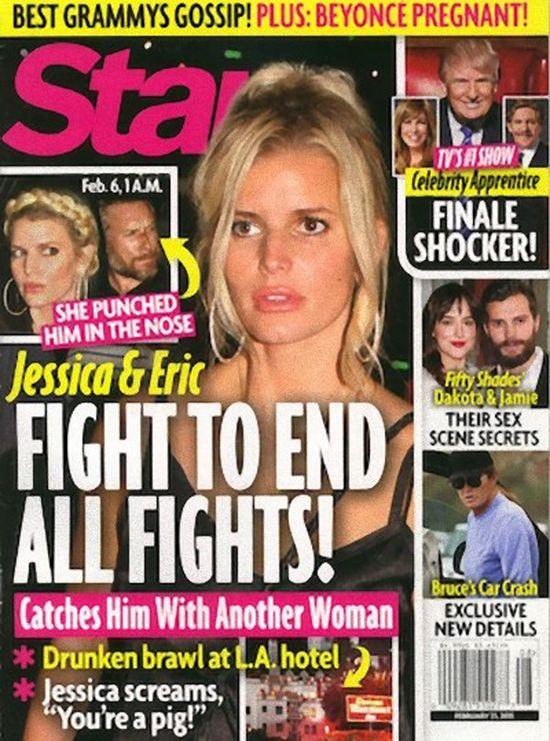 Krwawa kłótnia w rodzinie Jessiki Simpson!