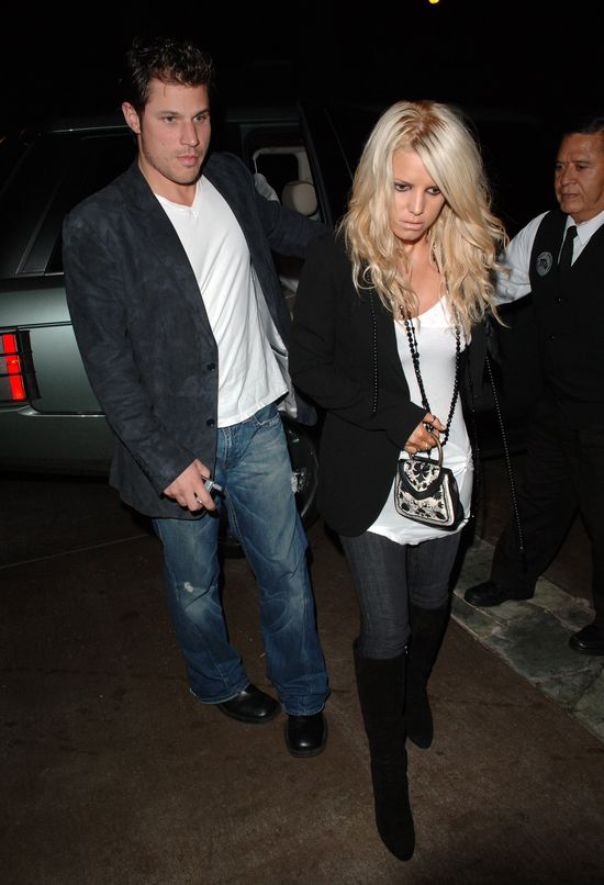 Jessica Simpson pocisn�a by�emu m�owi
