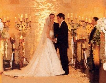 Jest pierwsze zdjęcie ze ślubu Jessiki Simpson!