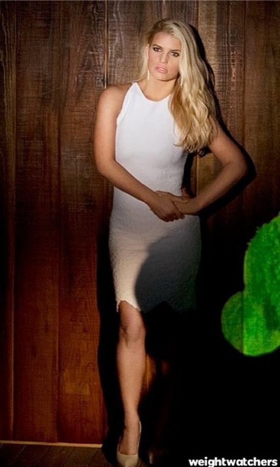 Jessica Simpson: Patrzcie, jaka jestem szczup�a! (FOTO)