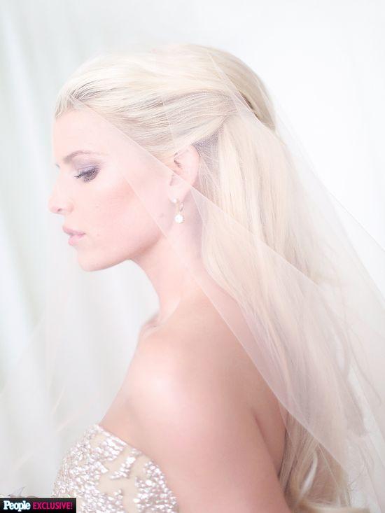 Co robiła Jessica Simpson, by w dniu ślubu wyglądać OBŁĘDNIE