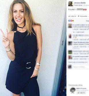 Jessica Ziółek pozuje w bikini (Facebook)