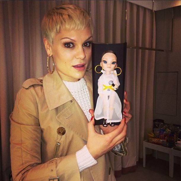 Jessie J zmieni�a kolor w�os�w (FOTO)