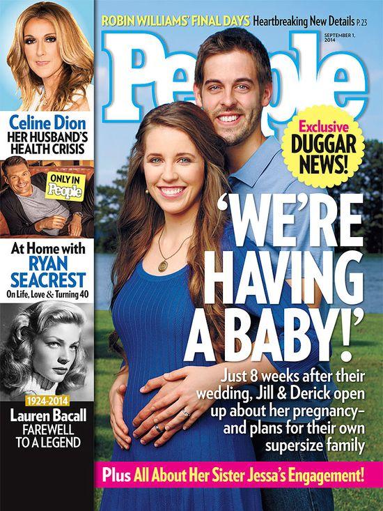 Jill Dugar zaszła w ciążę dwa tygodnie po ślubie